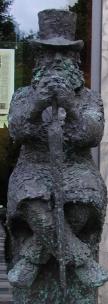Ibsen Museum Statue
