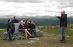 Team Gynt learns the Gyntian legends from Sverre Mørkhagen.